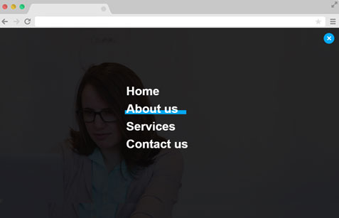 Expand Navigation Menu Using HTML CSS