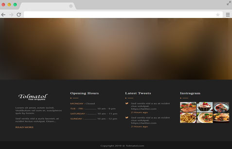 footer-design-for-restaurant - tolmatol.com