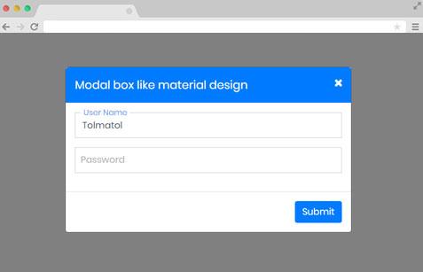Bootstrap Modal - www.tolmatol.com