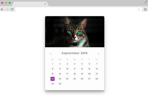 Jquery ui calendar