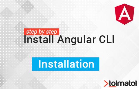 How to install angular CLI
